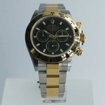 Rolex Cosmograph Daytona Gold and Steel Black Dial - 116503