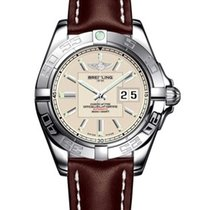 Breitling a49350L2/g699-2cd Galactic 41 Mens Automatic in...