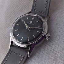Eterna rare mid size black dial