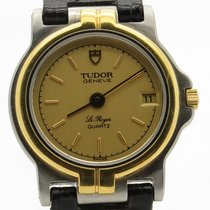 튜더 (Tudor) Le Royer Two Tone Vintage Ladies Quartz Watch With...