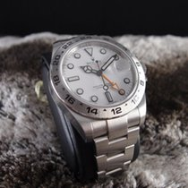 勞力士 (Rolex) 216570 Explorer 2 White with Orange Hand, Full Set...