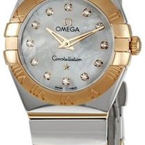 Omega Constellation  Quarz 24mm NEU mit Box + Pa
