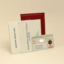 Omega Seamaster Certificate Zertifikat Warranty Booklet set