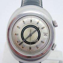 Jaeger-LeCoultre S/Steel MEMOVOX Alarm Automatic Watch E861...