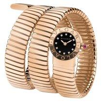 Bulgari BBLP191TBGG/12 18K Pink Gold Diamonds Ladies Watch