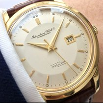IWC 36mm IWC Ingenieur 18ct solid gold Vintage Pie Pan Anti...