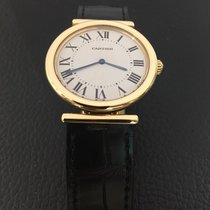 "Cartier Collector Square ""VERY RARE"" Ref.2220 18k..."