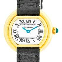 "Cartier ""Classic Vendome"" Strapwatch."