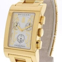 Bulgari RTC49GGD Rettangolo Chronograph in Yellow Gold - on...