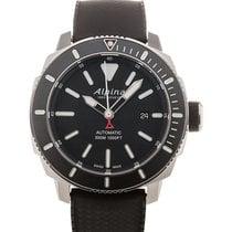 Alpina Seastrong Diver 44 Date Black Dial