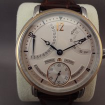 Maurice Lacroix Masterpiece Calendrier Retrograde steel/gold