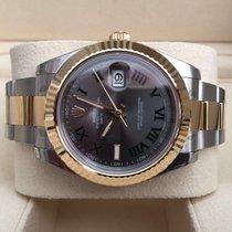 Rolex Oyster Datejust II Gold Steel Roman Dial 41 mm (Full Set)