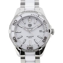 TAG Heuer Aquaracer 35 Gemstone Ceramic