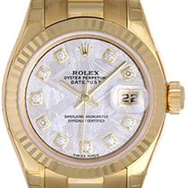 Rolex Ladies President 18k Yellow Gold Unused Watch 179178