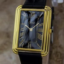 Cartier Swiss Made Manual Rare 1970s Gold Plated Men's...