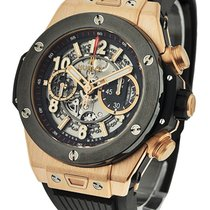 Hublot 411.OM.1180.RX Big Bang Unico 45mm in King Gold with...