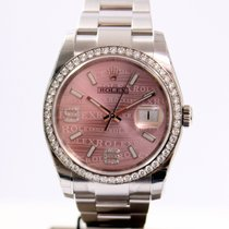 Rolex Datejust 36 Diamond Lunette