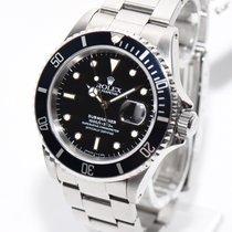 Rolex Submariner 16610 Date Stahl Uhr von 1991 Box+Papieren