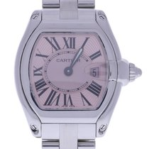Cartier Roadster 2675 30 Millimeters Pink Dial