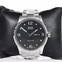 Mido Multifort Gent Steel Hands Days Data M0054301105000