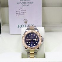 롤렉스 (Rolex) Yacht Master Blue Dial 18K Yellow Gold & Steel