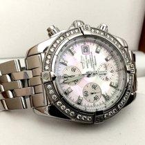 ブライトリング (Breitling) Chronomat Evolution Pearl Dial Diamond...
