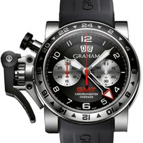 Graham Chronofighter Oversize GMT Steel 2OVGS.B39A.K10S