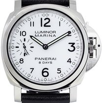 Panerai Luminor 8 Days Steel White Dial