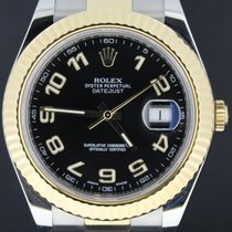 Rolex Datejust II Gold/Steel 41MM Black Arabic Dial, Full Set...