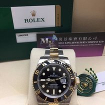 Rolex 116613LN Submariner Date Gold/Steel Black Dial