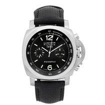 Panerai Luminor GMT 1950 Men's Stainless Steel Watch PAM...