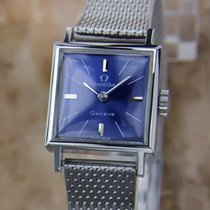 Omega Geneve Ladies 1960 Manual 18mm Stainless Steel Vintage...