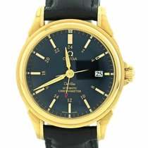 Omega De Ville Co-Axial GMT 18K Solid Gold Automatic