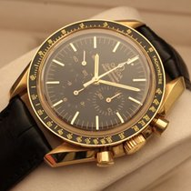 Omega Speedmaster professional yellow gold cal. 1863 b/p oro