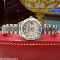 Rolex Oyster Perpetual Datejust Diamonds Watch