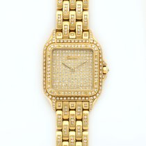 Cartier Panther 18K Solid Yellow Gold Diamonds