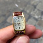 Omega De ville Oro Gold Lady lady 24 mm manuale manual