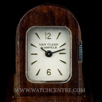 Van Cleef & Arpels Wooden Silver Dial Vintage Domino...
