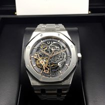 Audemars Piguet 15407ST Royal Oak Skeleton Openworked Automati...