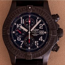 Breitling Super Avenger Black Steel Limited Ed.