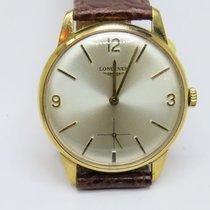 Longines Vintage 9Carat Mechanical Movement Gents Watch...