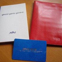 Gérald Genta Brieftasche Leder + Papiere