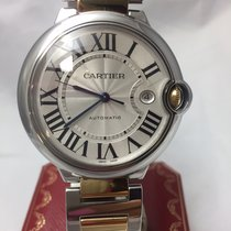 Cartier Ballon Bleu Mens Watch – Two Tone 18k Yellow Gold...