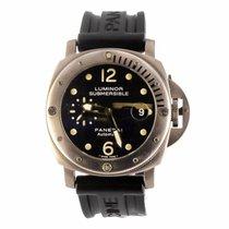 파네라이 (Panerai) Luminor Submersible 44MM Titanium Watch...