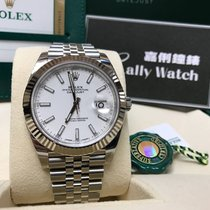 Rolex Cally - {2017 New} Datejust 41mm 126334 White dial