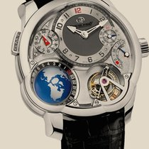 Greubel Forsey GMT. White Gold