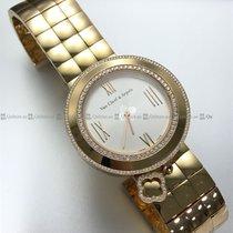 Van Cleef & Arpels - Charms Diamond Bezel White Dial R/G...
