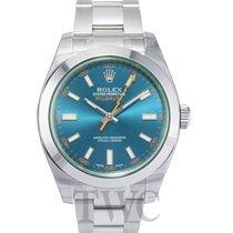 ロレックス (Rolex) Milgauss Blue/Steel Ø40mm - 116400 GV