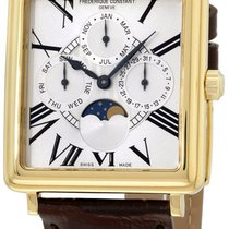 Frederique Constant Persuasion Moonphase Gold Plated Mens...