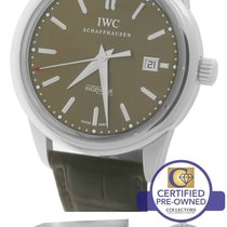 IWC Ingenieur 2012 Limited 500 Stainless Brown Watch